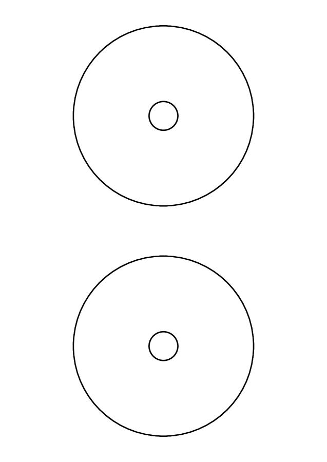 CD labels Maxi A4, SuperPrint-5115